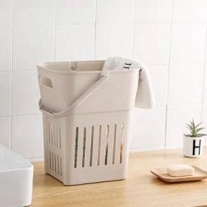 Cestello in plastica extra large cestini portaoggetti sporchi cesto porta abiti bagno box porta botte per giocattoli