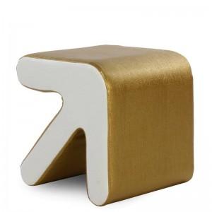 Moda Sgabello creativo Mobili per la casa Tipo di freccia Scarpe europee Sgabello Sedia Divanetto Tavolo Sedile Soggiorno Poggiapiedi