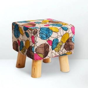 Moda moderna creativa poggiapiedi casa piccola sedia imbottitura naturale morbida scarpe sgabello supporto in legno massello soggiorno sgabello camera da letto