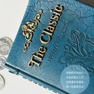 Moda Resina Salvadanaio Decorazione bancaria Cambio Lattine Barattolo di monete Scatola di immagazzinaggio per libri Regalo di compleanno salvadanaio