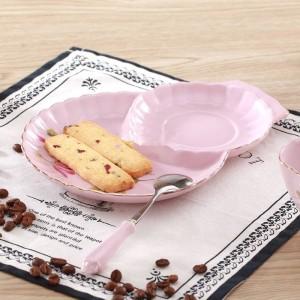 Fashion royal Pink lovers tazza da caffè set da caffè tazza da tè nero d'Angleterre fiore tazza da tè e piattino