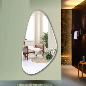 Specchio da parete senza cornice decorazione della camera da letto specchio a parete appeso a specchio a tutta lunghezza specchio per pavimento ingresso wx8231137