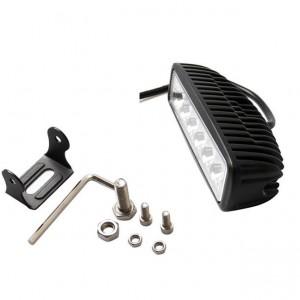 2pcs 36W 6 pollici ad alta luminosità LED Light Bar Flood Spot Beam Spotlight Light Bar Fit ATV fai da te luce esterna
