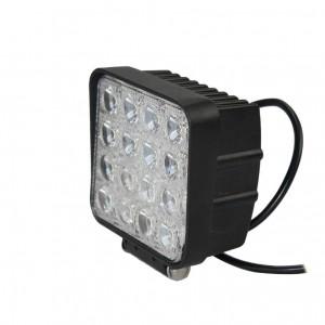 Barra da lavoro a LED da 48 W 16 X 3w led chip Flood Spot Beam Spotlight Offroad Light Bar Misura luce esterna ATV