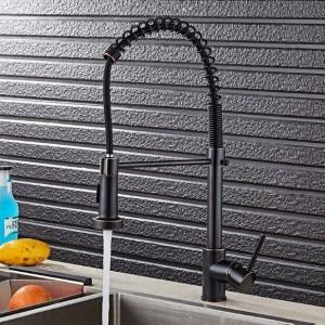 Rubinetto da cucina ORB estraibile Rubinetto per lavabo ORB miscelatore estraibile rubinetti spazzolati per cucina LAD-79