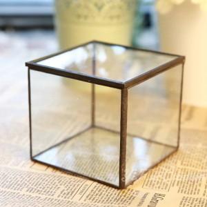 Stanza di fiore di vetro Yongsheng Fiore Geometrica Fiore stanza di vetro Bellissimo regalo scatola di gioielli in vetro