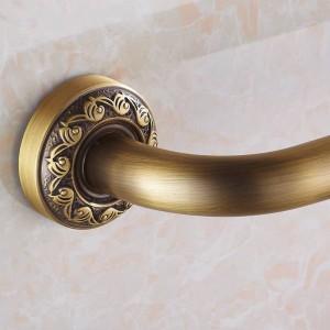 Maniglioni Ottone antico Fissato al muro 52 cm Maniglie di sicurezza per bagno Doccia Maniglione Maniglia per vasca Corrimano Assistenza domiciliare Maniglione 3721F