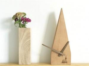 Faggio fatto a mano Scansione creativa Secondo orologio silenzioso Orologio da parete Orologio da tavolo Orologio da parete in legno Design moderno