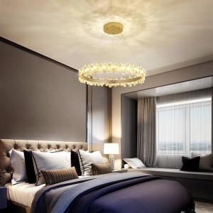 Home office lampadari a led apparecchio a soffitto Illuminazione da ristorante Lampada da camera romantica soggiorno lampadario di cristallo