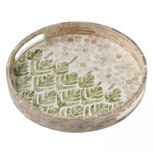 Vassoio da portata verde chic InsFashion per decorazioni in stile nordico o eventi per feste di matrimonio in spiaggia