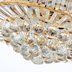 Ventilatore a soffitto invisibile Lampada a sospensione in cristallo Soggiorno Ventilador de techo Luci in cemento Lampade a 42 pollici moderne di raffreddamento