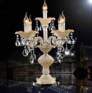 Lampada da tavolo in cristallo per sala da pranzo in Italia