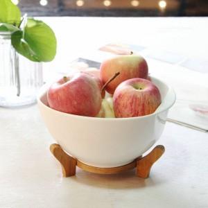 Ciotola in ceramica da tavola giapponese Ciotole per zuppa di grandi dimensioni per la casa con coperchio Insalatiera per frutta Scodella binaurale bianca pura con coperchio