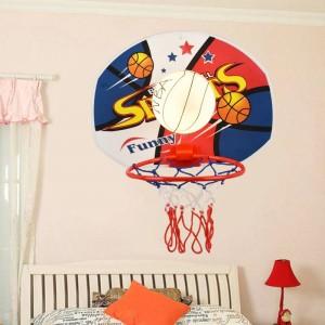 asilo Lampada da basket applique da parete per sala da pranzo Camera da letto per bambini Lampada da parete per bambini Applique da parete Applique in vetro