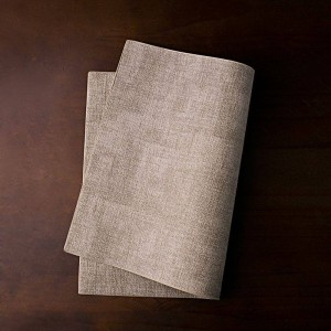 Vassoio da tavolo in pelle Nordic Vassoio di lusso resistente all'acqua resistente al calore Pad Stoviglie Contenitore per la conservazione Organizer per la casa