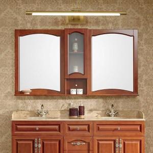 Fari a specchio in rame Lampada da armadio a LED per bagno americano Lampada per applique da parete nordica per trucco da nordic Hanglamp