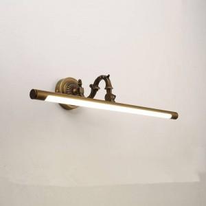 Nordic Makeup Hanglamp Fari a specchio in rame a LED Lampada da bagno americana per bagno Applique da casa Deco Applique