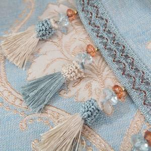 Tovaglia di lusso Jacquard europeo Toalha De Mesa Tovaglia piccola Design tascabile Appeso Dinning Armadi comodini Tovaglie