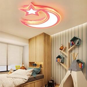 Lampade a soffitto moderne bianco blu rosa colore Per ragazzi e ragazze Camera da letto Lampada da soffitto a soffitto Apparecchi di illuminazione