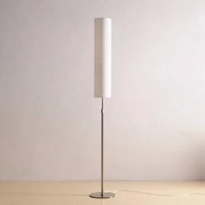 Lampada da terra moderna Lampade da terra minimaliste in acciaio inossidabile per soggiorno Illuminazione da lettura Lampada da terra in ferro Loft Lampadina E27 LED