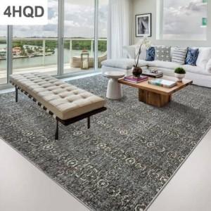Moderno e minimalista divano inchiostro inchiostro tavolino tappeto geometria casa camera da letto in stile nordico lana letto coperta Europa e in America