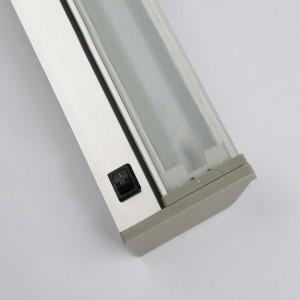 Lampada da specchio moderna lampada da parete impermeabile 48cm 61cm Bagno a parete di alta qualità AC85V-240V ingresso bianco 6000K bianco caldo
