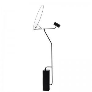 Moderna lampada da terra semplice paralume in acrilico bianco lampada a led lampada da terra foyer lettura camera da letto ufficio casa apparecchio di illuminazione a LED