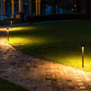 Lampada da prato a forma di fungo a led Passerella impermeabile a led Fungo Luce paesaggistica Giardino Villa Lampada a led da esterno per illuminazione da esterno