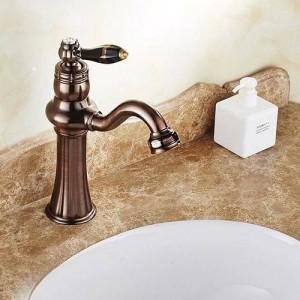 ORB monoforo rubinetto dell'acqua calda e fredda palcoscenico lavabo bagno rubinetto lavabo rubinetto europeo XT618