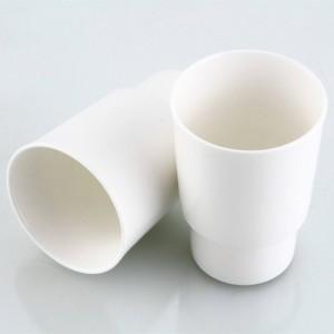 Portabicchieri e bicchieri Spazzolino in ottone antico in ceramica con 2 tazze Accessori da parete per bagno 9225K