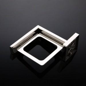 Portabicchieri singolo Portabicchieri spazzolino in acciaio inossidabile Portabicchieri semplice da bagno Accessori da bagno 9164K