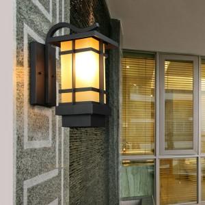 Nuove applique da parete vintage esterno navata impermeabile balcone giardino villa coperta retrò giardino lampada da parete a led da esterno a led europeo