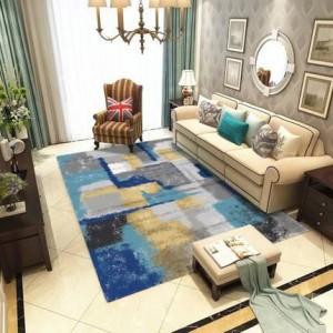 Nordic salotto tavolino astratto inchiostro tappeto semplice e moderno studio camera nuova camera da letto coperta comodino