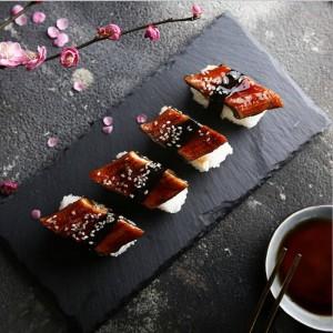 Nordic Stone Tavolo nero Piatto di stoccaggio Minimalista Chic Moderno Frutta Cibo Scrivania Scrivania Organizzatore di stoccaggio Decorativo