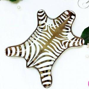 Tigre nordica modello pelle anello di ceramica collana snack vassoio vassoio cosmetici cosmetici stoccaggio desktop ornamenti decorativi