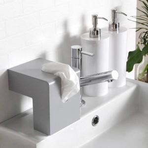 Scatola del tessuto nordica Design creativo del contenitore Tovagliolo di carta da bagno in plastica Contenitore per la casa Asciugamano di carta Decorazioni per la casa
