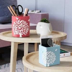 Organizzatore da tavolo per ufficio Portapenne da tavolo per accessori per custodie per la scuola domestica Organizzazione per scrivania con portamatite