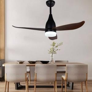 44 pollici decorazione fan luce a LED per camera da letto moderna ventilatore a soffitto per soggiorno Art Deco Fan Lights