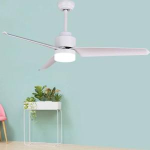 Plafoniera moderna del ventilatore da 51 pollici per la lampada moderna del ventilatore da soffitto della camera da letto per le luci del ventilatore del tetto di art deco del salone