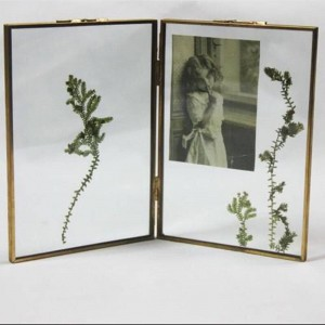 Portafoto Metallo + vetro ad alta definizione Bella cornice Accessori per la decorazione della casa Regali