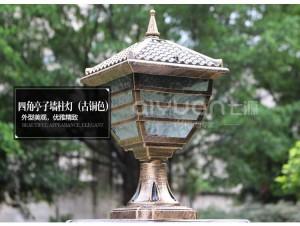 lampada a pilastro Lampada da parete di grandi dimensioni illuminazione esterna portico Lampada da giardino novità padiglione Lampada da parete per esterno impermeabile LED Arandela