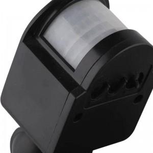 Proiettore a LED PIR 10W con lente Faretto DC / AC12V Sicurezza del garage del sistema solare Sensore di movimento Tempo Lux regolabile