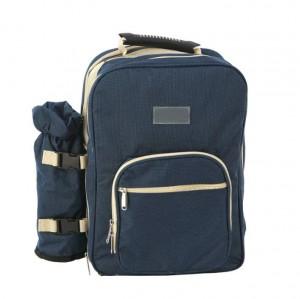 Borsa portaposate portatile borsa da picnic per quattro persone borsa da picnic set da viaggio per esterni pentole da campeggio da campeggio multifunzione da picnic