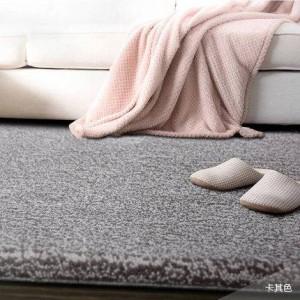 Tappeto in lana di colore puro hotel tappeto pieno ampio salotto tavolino camera da letto coperta comodino personalizzato