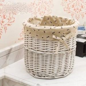 Cestino di vimini in rattan cestino di immagazzinaggio del panno del desktop cestino di paglia piccolo fiore cestino spuntino scatola di immagazzinaggio articoli vari