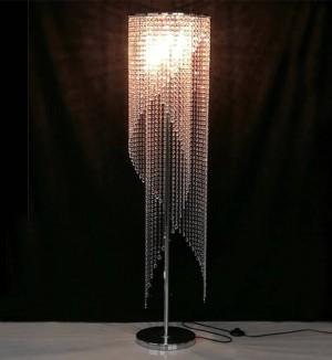 Sala lettura led moderna lampada da terra in cristallo soggiorno sala studio cristallo piano luce biblioteca salone d'arte led stand Luci Abajur
