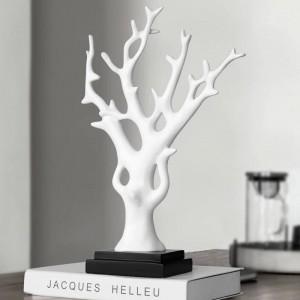 Figurine in resina Albero di soldi fortunati per soggiorno negozio ufficio da tavolo modello da tavolo giocattoli regalo fengshui per decorazioni domestiche