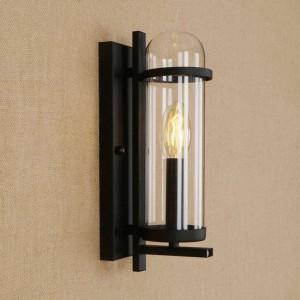 Lampada da parete creativa in ferro di vetro RH moderna lampada da parete in stile pastorale rurale per lampade da parete deco da ristorante