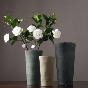 Decorazione domestica nordica domestica dell'essiccatore del salone creativo europeo europeo del vaso di fiore