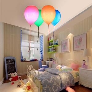 Lampada da camera per bambini semplice, palloncini, plafoniere, camera da letto, ragazzi e ragazze, studio creativo ristorante lampada da soffitto a led